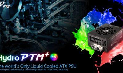 FSP presenta Hydro PTM+, la primera fuente de alimentación con refrigeración líquida 95