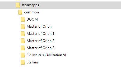 archivos de juegos Steam