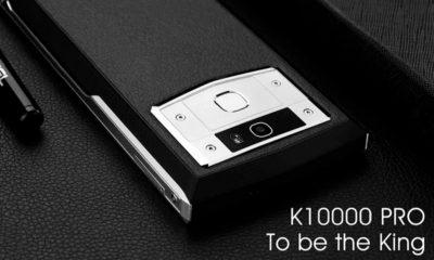 K10000 Pro, smartphone con batería de 10.000 mAh que carga muy rápido 30