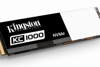 Kingston presenta las SSDNow KC1000, M.2 rapidísimas