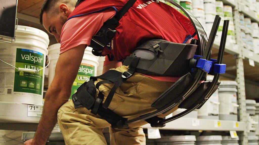 Este prototipo de exoesqueleto simplifica el concepto al máximo 30
