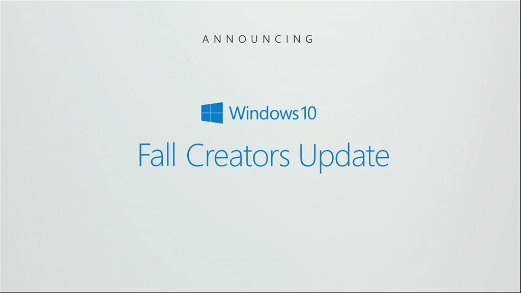 Microsoft confirma Windows 10 Fall Creators Update 30