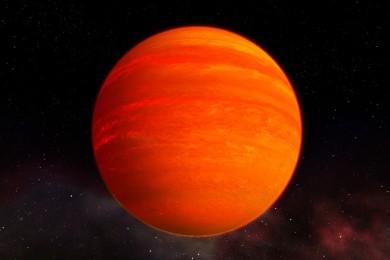 Descubren un Neptuno caliente con una atmósfera acuosa