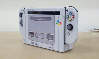 Este mod viste a Nintendo Switch de Super Nintendo 45