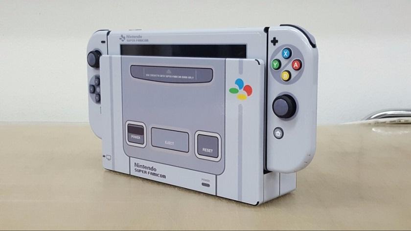 Este mod viste a Nintendo Switch de Super Nintendo 30