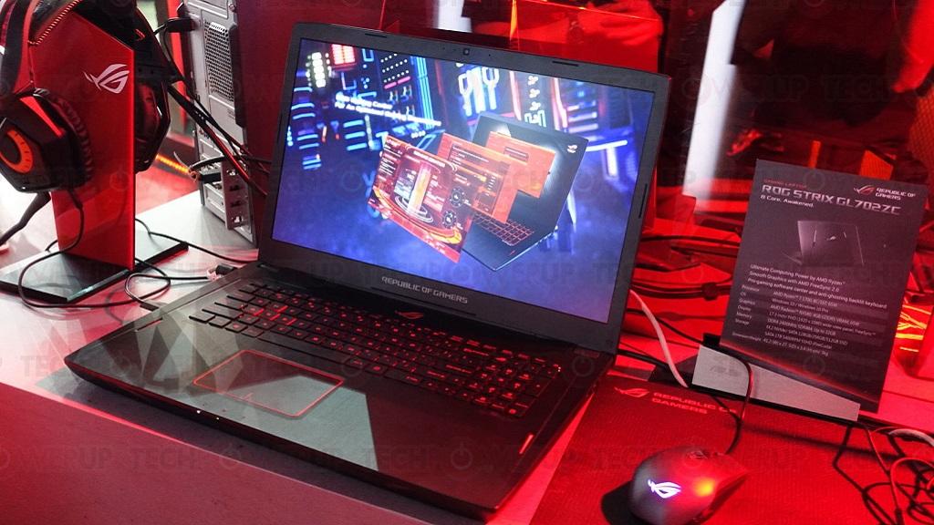 ASUS presenta el ROG STRIX GL702ZC, primer portátil con RYZEN 1700 29