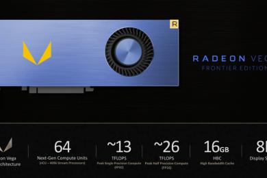 AMD confirma que habrá versión de consumo de la Radeon Vega Frontier Edition