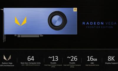 AMD confirma que habrá versión de consumo de la Radeon Vega Frontier Edition 44