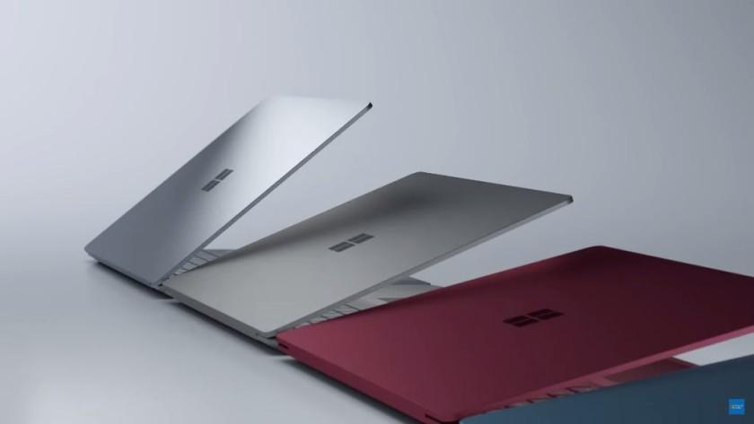 Microsoft muestra el portátil Surface Laptop con Windows™ diez S