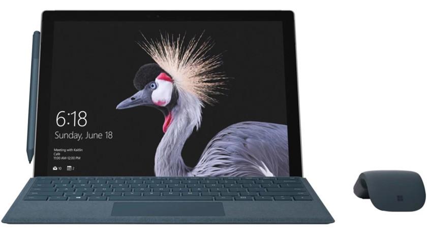 Aquí tienes el reciente Surface Pro