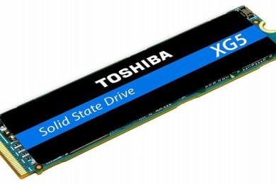 Toshiba XG 5, SSD M.2 rapidísima