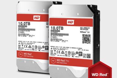 Tu NAS se emocionará al ver los discos duros WD RED de 10 TB