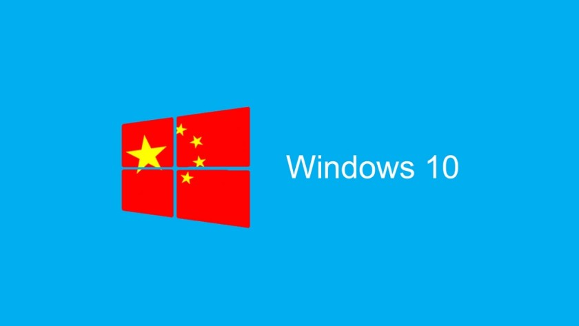 Microsoft anuncia oficialmente Windows 10 China Government Edition
