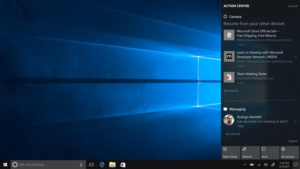 Un vistazo a la cuota de Windows 10 Creators Update seis semanas después 30