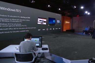 Los portátiles con Windows 10 S costarán 189 dólares