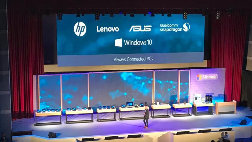 HP, ASUS y Lenovo trabajan en PCs Windows 10 sobre ARM