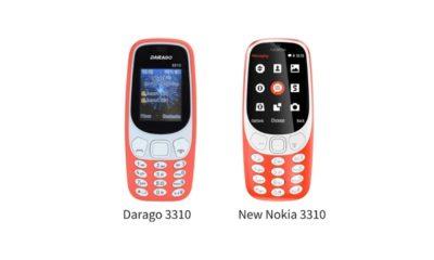 Darago 3310, un clon del Nokia 3310 por 12 dólares 34