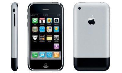 Prueba de resistencia del iPhone 2G, el primer smartphone de Apple 30