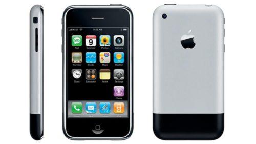 Prueba de resistencia del iPhone 2G, el primer smartphone de Apple
