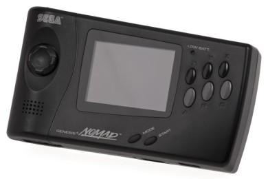"""Genesis Nomad, así era la """"Switch"""" que lanzó Sega en 1995"""