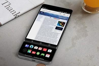 El LG V30 asoma en imágenes con una segunda pantalla extensible