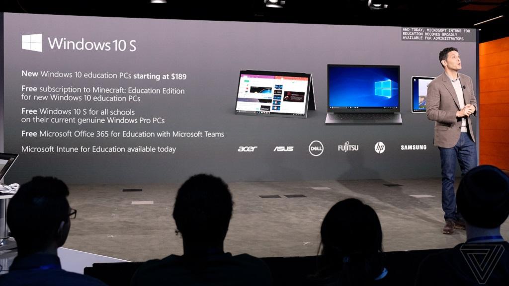 Las distros Linux no funcionarán en Windows 10 S 29
