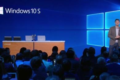 Microsoft desvela Windows 10 S, que nada tiene de 'cloud'