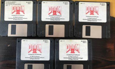 John Romero subasta sus disquetes originales de DOOM II 44