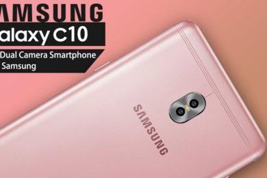 Especificaciones y precio del Galaxy C10, el primero de Samsung con cámara dual