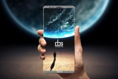 Listadas las posibles especificaciones del Galaxy Note 8 de Samsung