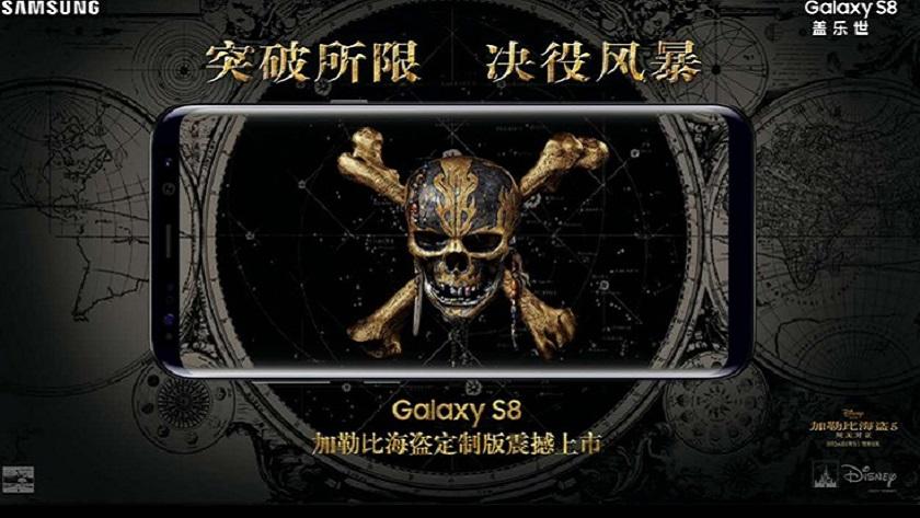 Samsung anuncia el Galaxy S8 Pirates of the Caribbean Edition 33
