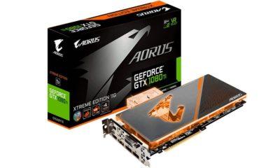 GIGABYTE lanza la GeForce GTX 1080 Ti AORUS Waterforce XE 110