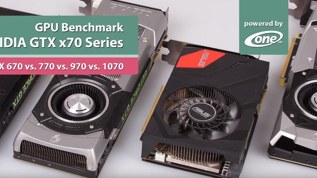 GeForce GTX 670 frente a GTX 770, GTX 970 y GTX 1070 en juegos 28