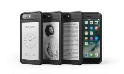 InkCase i7 Plus, funda para iPhone 7 Plus con pantalla de tinta electrónica 40