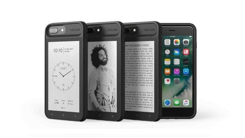 InkCase i7 Plus, funda para iPhone 7 Plus con pantalla de tinta electrónica 36