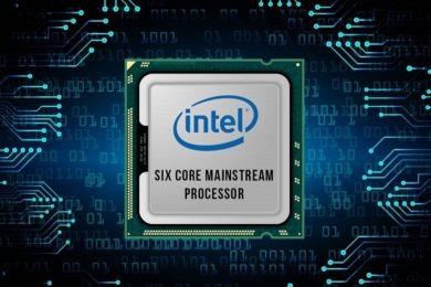 Rendimiento en Geekbench del Intel Coffe Lake de 6 núcleos y 12 hilos