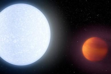 Te presentamos a Kelt-9b, el infierno hecho planeta