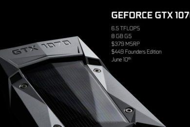 Las GTX 1070 son ahora más caras que las GTX 1080, te contamos por qué