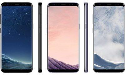 Los Galaxy S8 y S8+ son los mejores smartphones del mercado, dice Consumer Reports 101