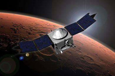 Tres descubrimientos muy importantes sobre Marte que debemos a MAVEN