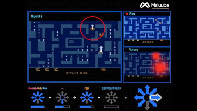 AI de Microsoft logra la puntuación máxima en el Ms. Pacman