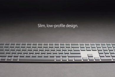 Microsoft Modern Keyboard, nuevo teclado con lector de huellas integrado