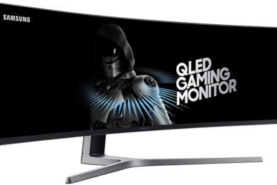 Samsung comercializa un monitor para juegos de ¡49 pulgadas!