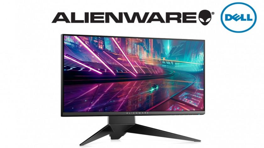 monitores Alienware