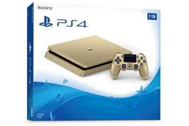 Nueva PS4 Slim dorada para el E3, rebajada a 249 dólares