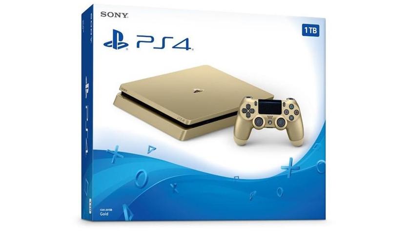 PS4 Slim dorada