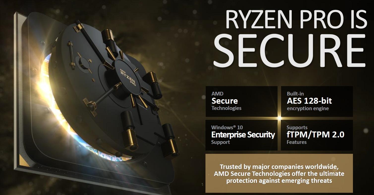 AMD anuncia los nuevos RYZEN Pro, especificaciones y características 35