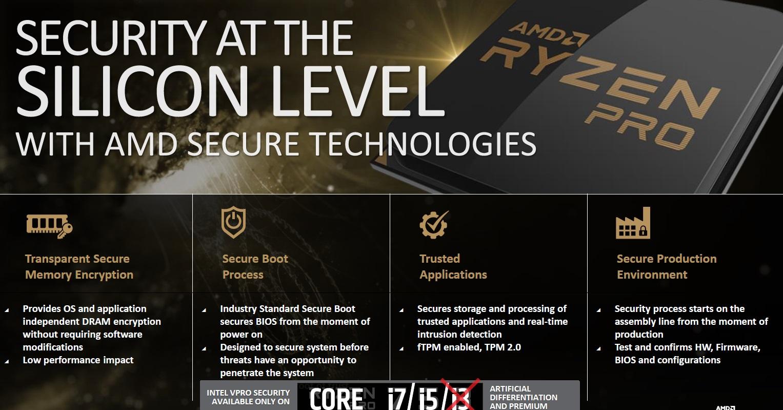 AMD anuncia los nuevos RYZEN Pro, especificaciones y características 33