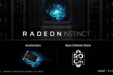 AMD sube el listón con las nuevas soluciones Radeon Instinct