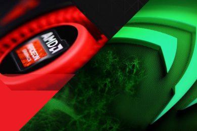 GeForce GTX 1050 frente a Radeon RX 560 en resoluciones 1080p